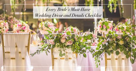 Wedding Checklist Must Haves by Wedding Decoration Must Haves Images Wedding Dress
