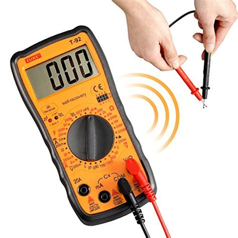 testing a diode with a fluke elike t 92 self recovery digital multimeter ohm volt with import it all