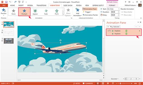 download powerpoint animation transition gettthink how to create a custom animation in powerpoint