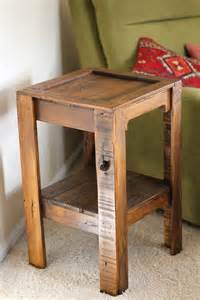 End Table Ideas by 10 Diy Furniture Ideas Pallet Side Table Diy Furniture