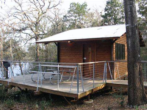 Buescher State Park Cabins by Buescher State Park