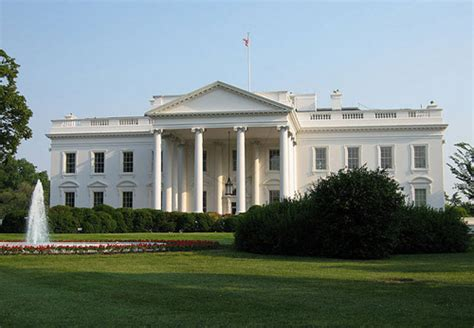 where is the white house located at where is white house located