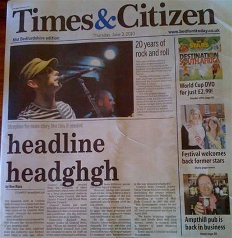 Newspaper Layout Mistakes | 15 hilarious newspaper mistakes and apology notes funny
