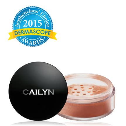 Cailyn Deluxe Mineral Foundation Powder 03 Beige blush bronzer deluxe mineral blush powder