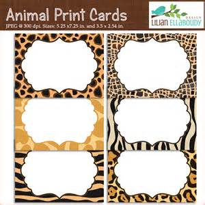 Animal Print Templates by 6 Best Images Of Animal Templates Printable Free