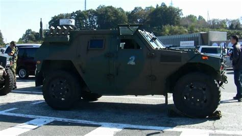 homemade tactical vehicles jgsdf komatsu light armored vehicle youtube