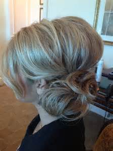 hair with poof on top updo i like the side bun with a poof in the back up top