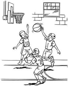 basketball coloring page basketball player coloring pages free printable pictures