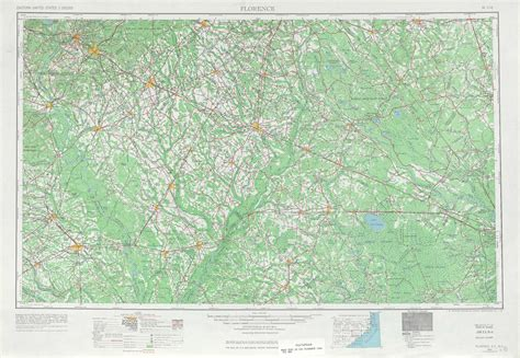 topographic map of carolina florence topographic maps nc sc usgs topo 34078a1