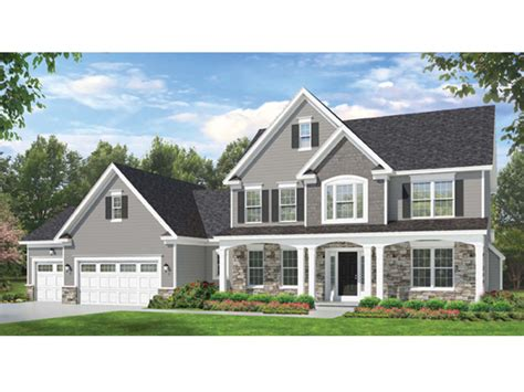 colonial home plans colonial style house plan 4 beds 2 5 baths 2523 sq ft plan 1010 59 dreamhomesource