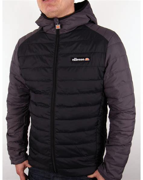 Kickers Casual Black Grey ellesse lombardy puffer jacket black grey padded coat
