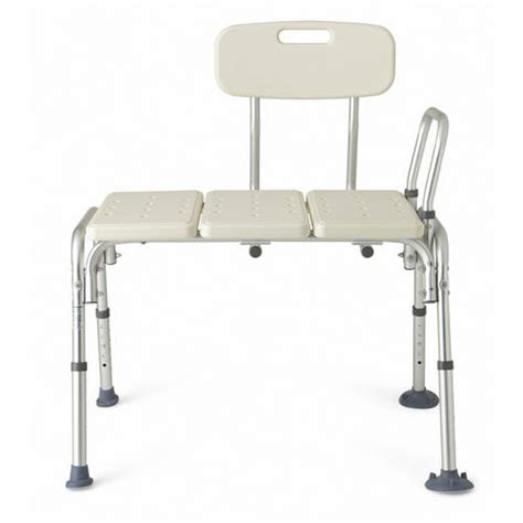bath transfer bench walmart medline transfer bench with back walmart com
