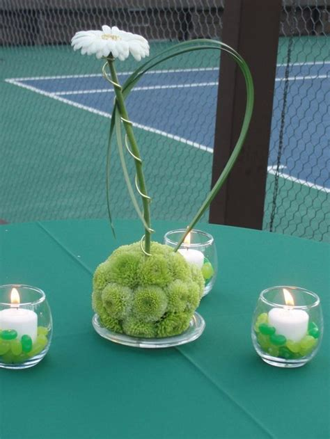 tennis themed events themed parties tennis party and centerpieces on pinterest
