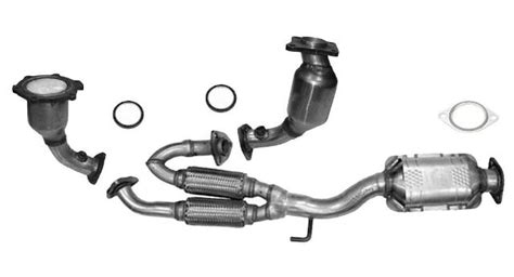2007 nissan murano catalytic converter all three catalytic converter gaskets fits 2003 2007