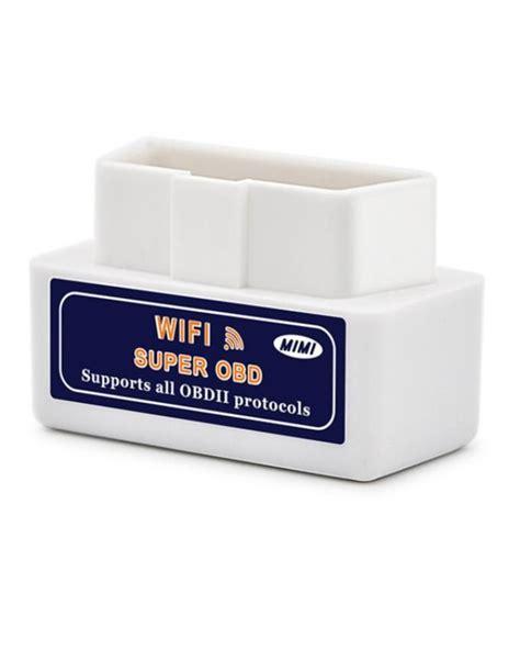Obd2 Wifi elm327 obd2 wifi auto diagnostic scanning tool silicon pk
