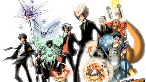 wallpaper anime reborn hitman reborn wallpapers hd wallpaper cave