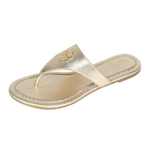 gold sandals on sale burch flat spark gold sandals sandals