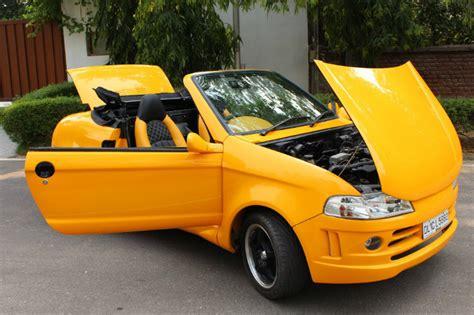 maruti suspension modification js design s custom maruti 800 convertible updated