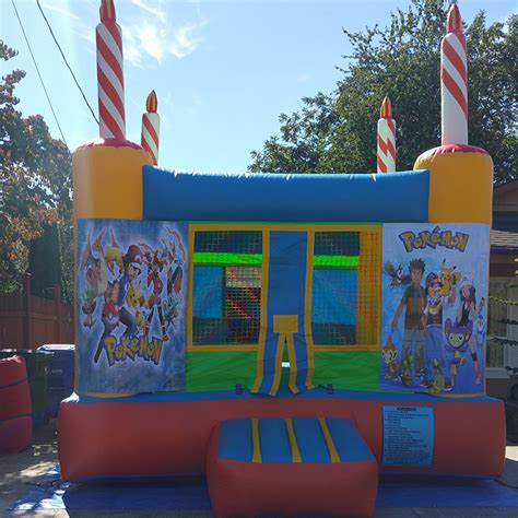 pokemon bounce house jumppdx bounce house rentals portland oregon