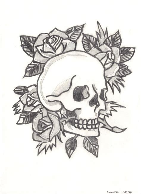 ed hardy coloring page ed hardy skull and roses by flowerphantom on deviantart