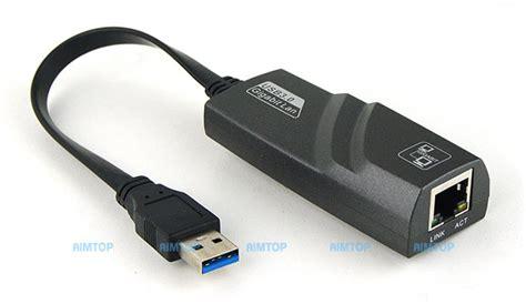 Usb To Lan Usb 3 0 To Gigabit Ethernet Lan Rj45 Adapter 10 100