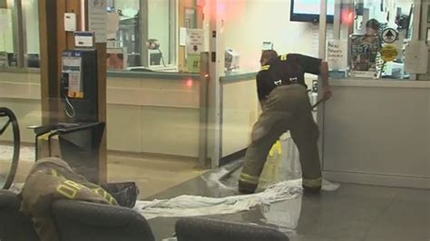 toronto emergency rooms water at etobicoke general hospital floods part of emergency room cp24