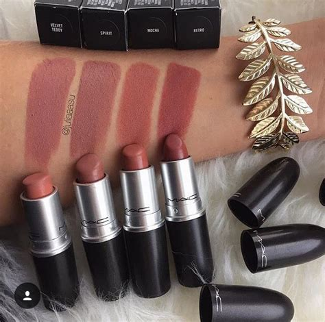Mac Matte Lipstick Velvet Teddy a few mac top ponder velvet teddy spirit