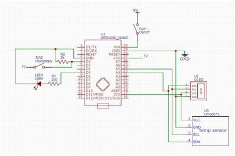 diy arduino gy  infrared thermometer arduino