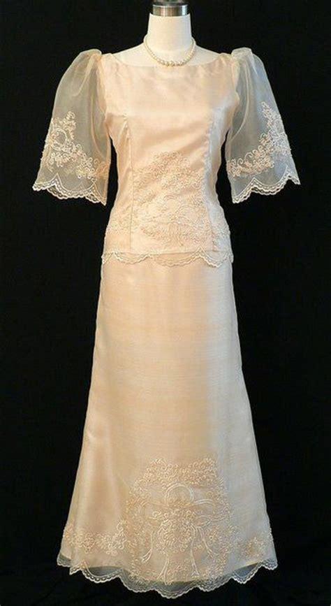 Dress Saja 134 best filipiniana dresses gowns philippine