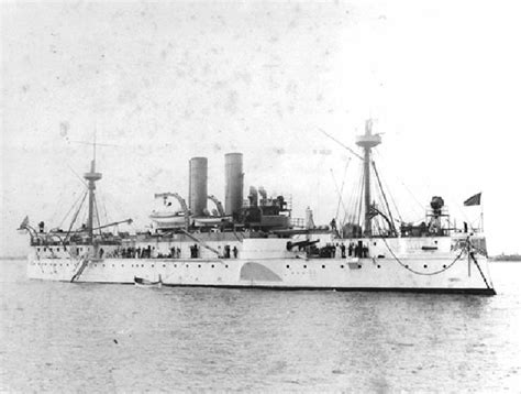The Sinking Of The Maine by Four Ships Of The United States Navy Have Borne The Name