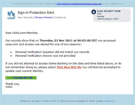 Account Verification Letter Usaa Warning New Phishing Scam Targets Usaa Members