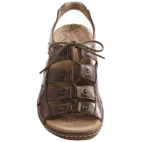taos sandals clearance taos footwear ghilbert sandals for 9299c save 62