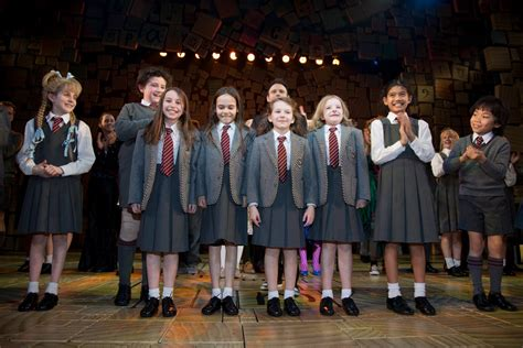 cast of broadway opening night matilda the musical london