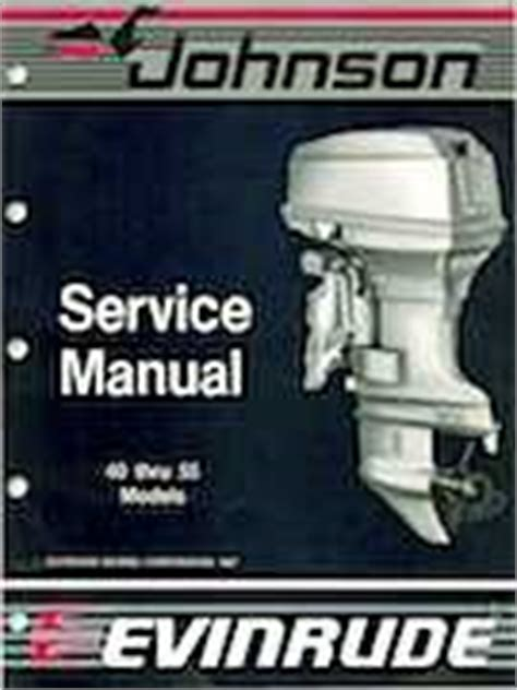 Download Service Manual For 1988 50 Hp Evenrude Motor 13 95