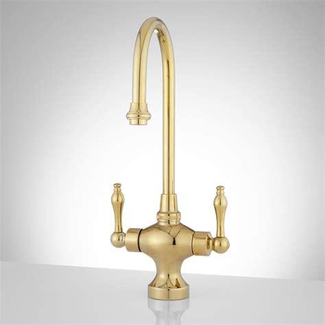 kohler brass kitchen faucets kohler polished brass kitchen faucet
