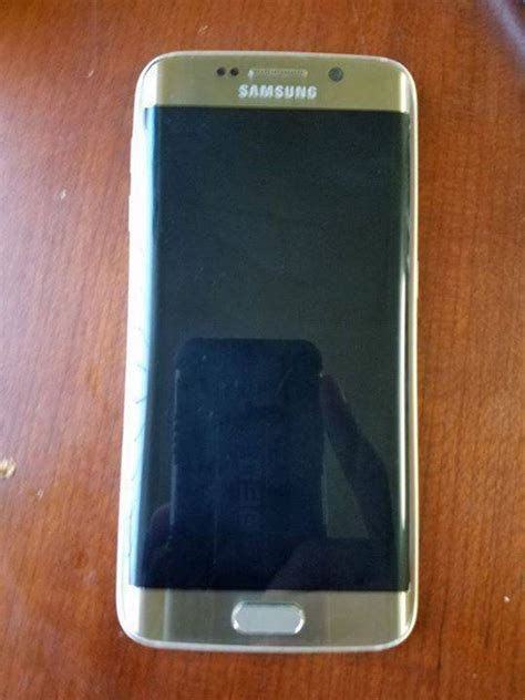 Samsung S6 Edge Gold samsung galaxy s6 edge gold withe classified ad