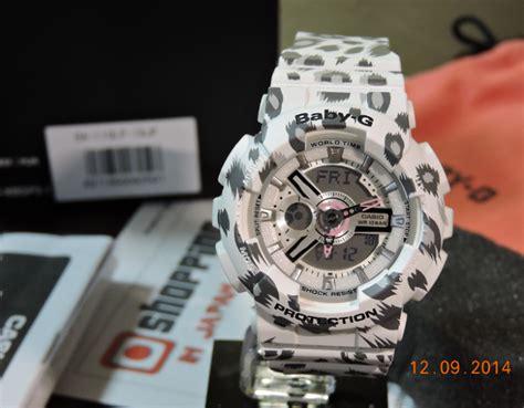 casio baby g ba 110 lp 4a original brand new babyg ba 110lp 7ajf white leopard series ebay