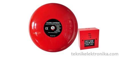 Bel Kebakaran cara kerja bel listrik electrical bell