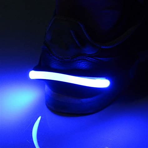 night running lights for joggers rumble 24 7 night running shoe lights keep you safer in