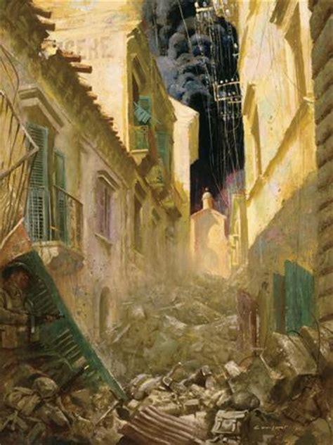 Charles Comfort Paintings by Warmuseum Ca And War Via Dolorosa Ortona