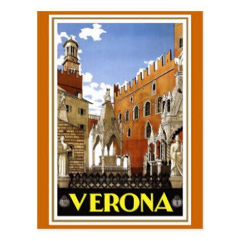 Italy Dll Poster Vintage 4 Frame vintage italian postcards zazzle