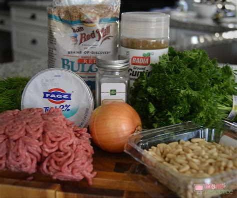 Eastern Ingredients by Easy Middle Eastern Kibbeh Recipe Resource