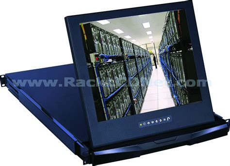 Rackmount Lcd Monitor 1u 19 quot rack mount lcd monitor drawer lm1rp 19 racklcdnet