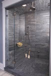 slate tile bathroom ideas 37 grey slate bathroom wall tiles ideas and pictures