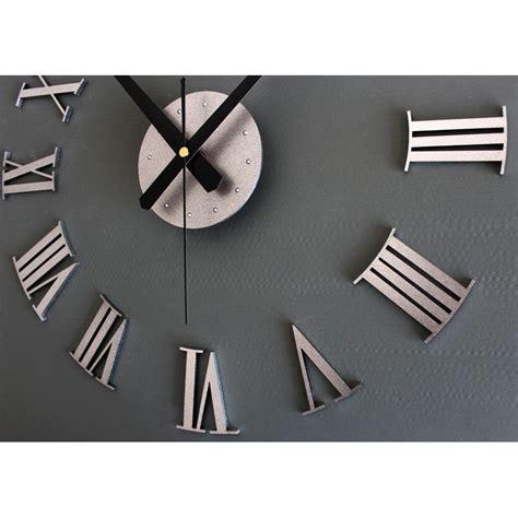 Jam Dinding Big Diy Wall Clock diy wall clock 30 60cm diameter elet00662 jam dinding silver jakartanotebook