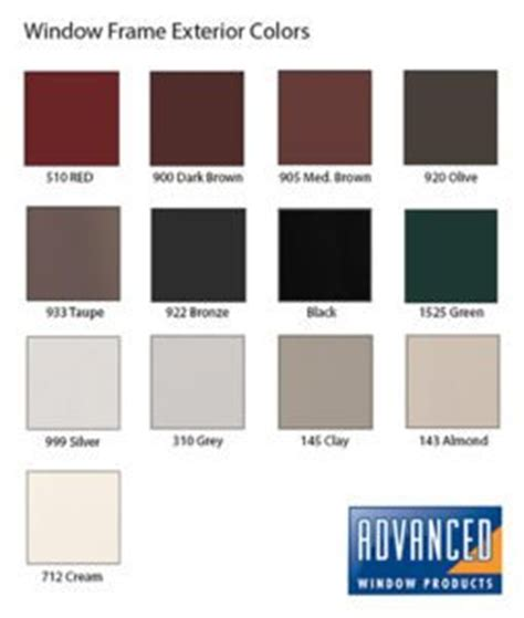 selecting a window frame color