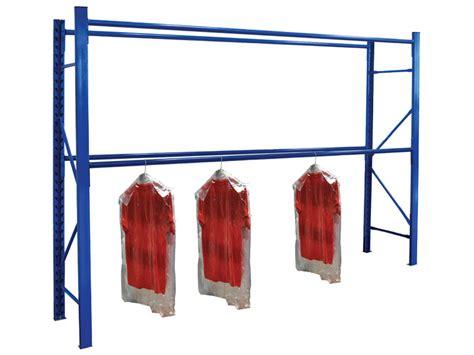 Clothes Racking System longspan garment racking