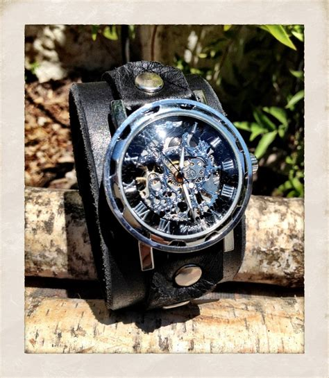 Best Seller Skeleton Leather White Brown Leather 17 best images about torn to pieces on copper womens leather watches and brown leather