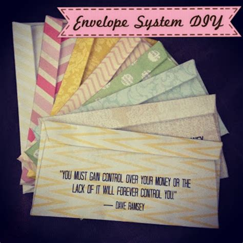 Like Playing House Envelope System With Printable Envelopes Dave Ramsey Envelope System Template