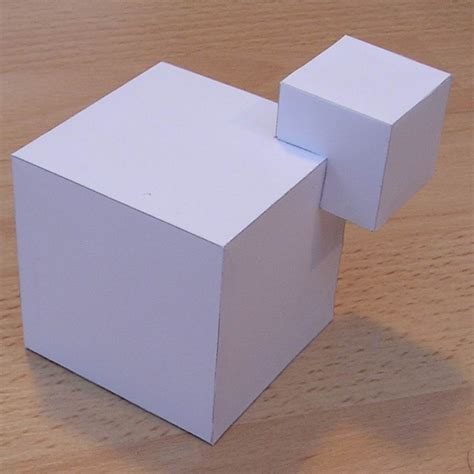 paper cubic shapes